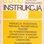 Durobet instrukcja 1982
