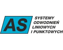 Logo AS Systemy odwodnień liniowych i punktowych