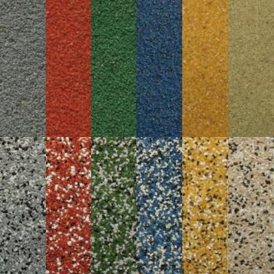 Kruszywa kwarcowe barwione