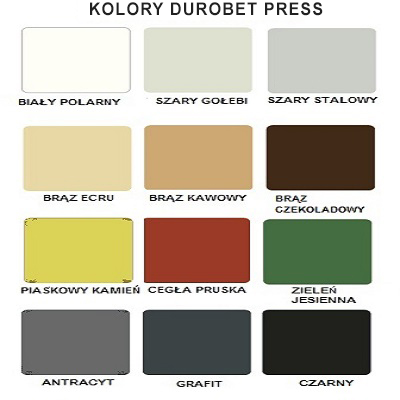 Kolory Durobet Press
