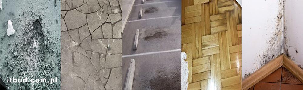niewłaściwe podłoże pod mikrocement