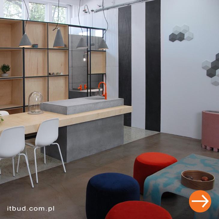 Showroom Faktorii Betonu