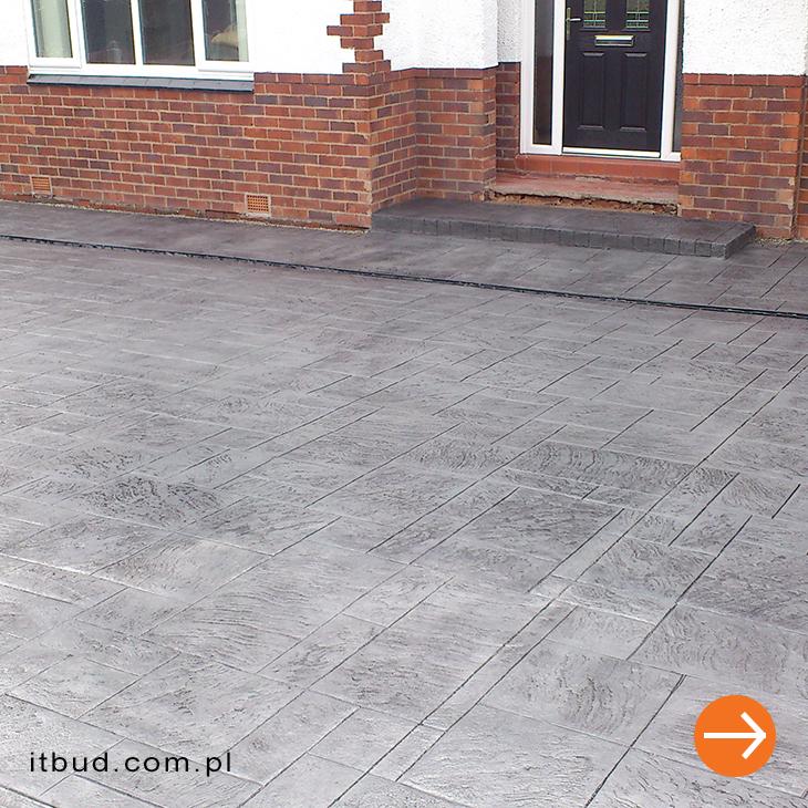 beton stemplowany