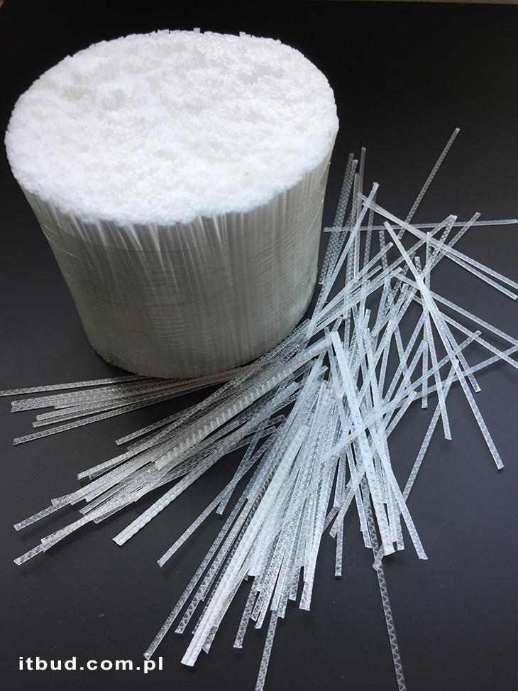 Polimerowe włókna zbrojeniowe