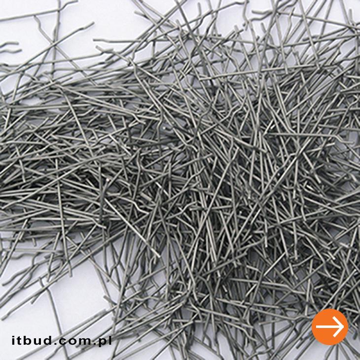 stalowe włókna zbrojeniowe