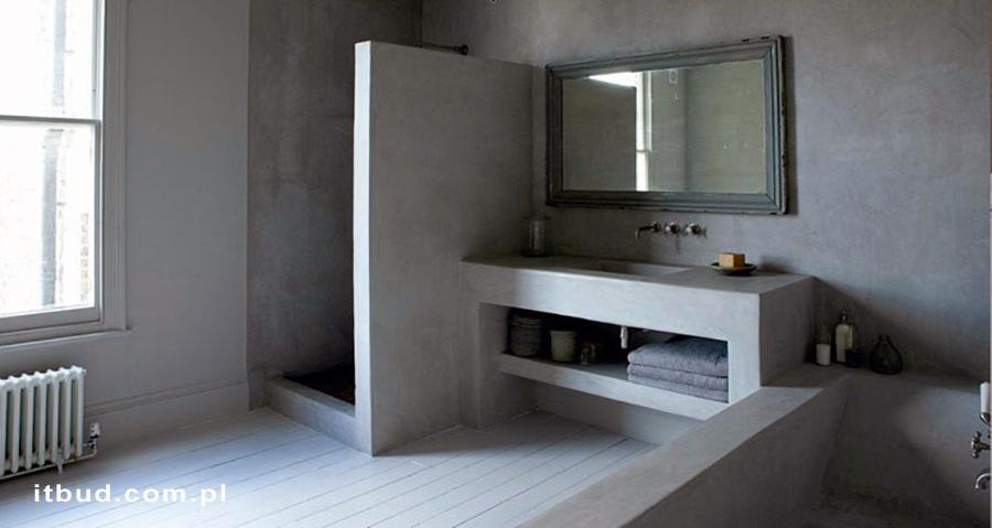 Mikrocement łazienka
