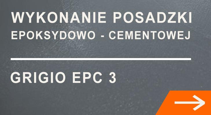 Wykonanie posadzki epoksydowo cementowej EPC 3