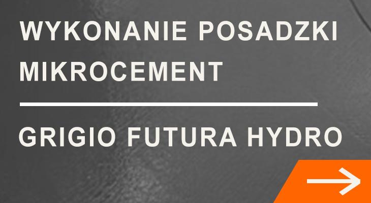 Wykonanie posadzki Grigio Futura Hydro
