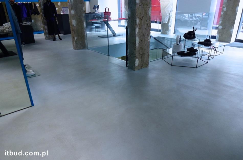 Mikrocement na podłogę
