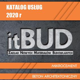 Katalog usług Itbud 2020 okładka