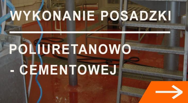 Wykonanie posadzki poliuretanowo-cementowej