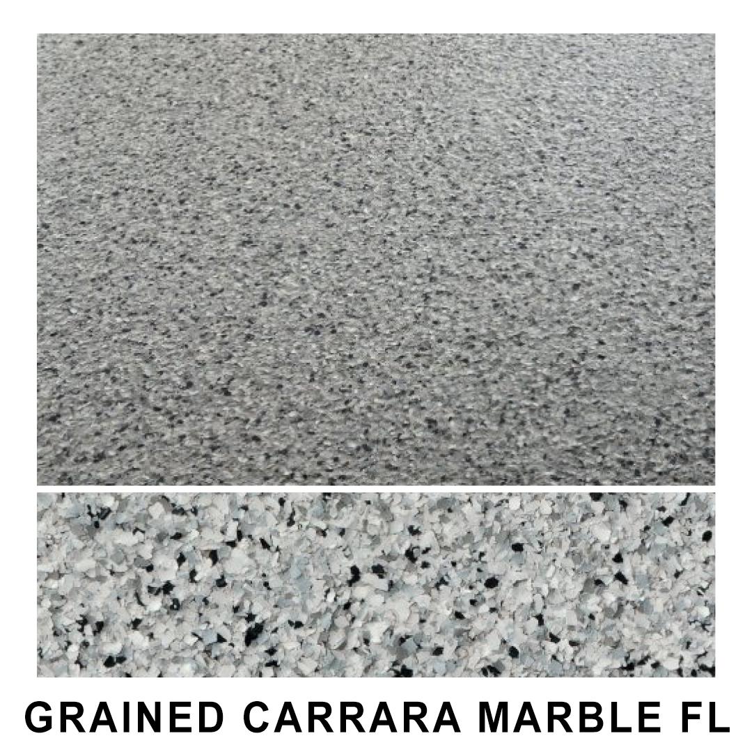 Lamine GRAINED CARRARA MARBLE FL