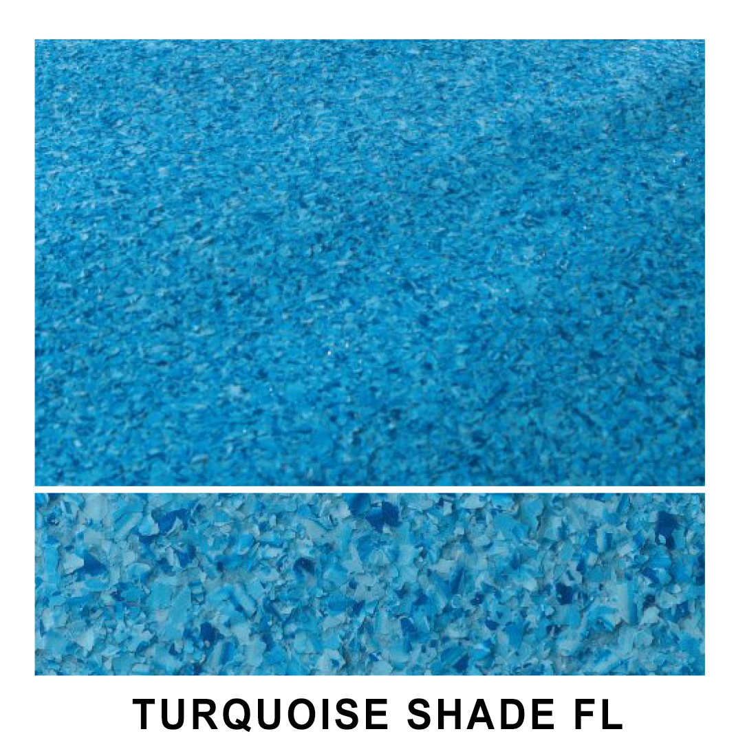 TURQUOISE SHADE FL